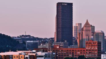 U.S. Steel Tower in Pittsburgh.