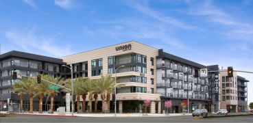 Completed in 2020 at 615 East Carson Street, in Carson, the Union South Bay comprises two five-story buildings on five acres.