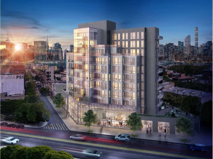 A rendering of The Prime LIC at 22-43 Jackson Avenue in Long Island City, Queens.
