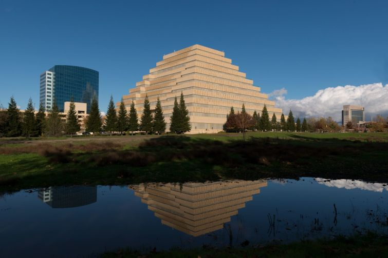 The Ziggurat in West Sacramento.