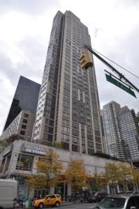 410 East 61st Street, with the retail property at the base.