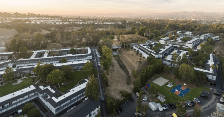 Advanced Real Estate Services has secured $263 million to refinance six properties with 1,255 units in the Inland Empire and Orange County.