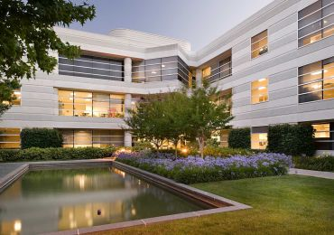 The Sunnyvale Apple Office Campus.
