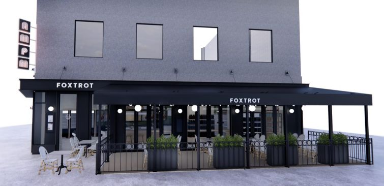 A rendering of D.C.'s newest Foxtrot location.