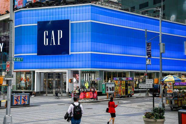 Gap's Times Square Flagship.