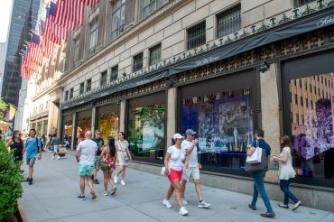 Saks Fifth Avenue Manhattan flagship.