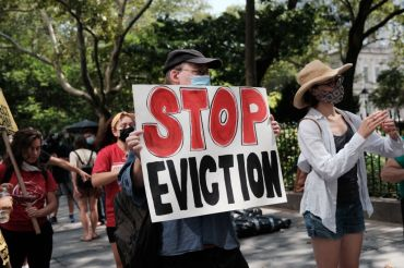 Hundreds of thousands of tenants in New York City are behind on their rent as the state has only distributed federal rent relief money to 7,000 households.