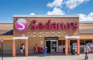 Town and Country Plaza in Miami is anchored by Sedano's Supermarket.