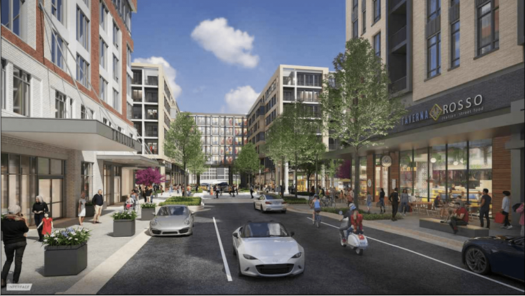 Rendering for Phase 2 of The Boro.