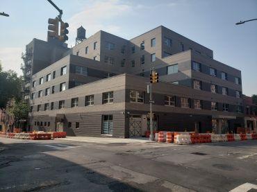 Samaritan Daytop Village's Richard Pruss Wellness Center at 356-362 East 148th Street in the South Bronx.