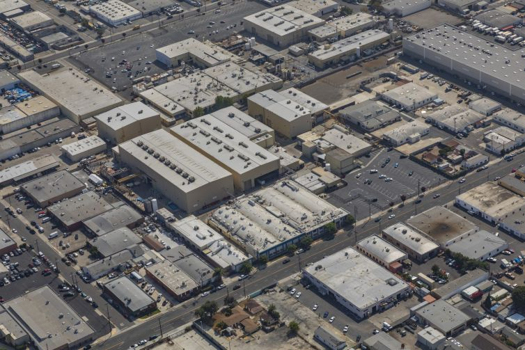 The property at 1600 West 135th Street in Gardena is fully leased to Avcorp, an aerospace and defense firm that works with firms like Boeing and Lockheed Martin.