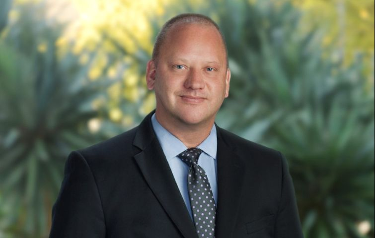 Hines' new VP of proptech Tom Bradford.