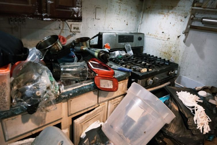 Basement apartments like this one were flooded and damaged in various parts of Queens during Hurricane Ida.