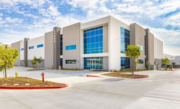 The new building, called Harvill Logistics Center, totals more than 300,000 square feet in Riverside County.