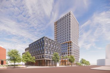L+M Development Partners is building 350 rental apartments—20 percent of which will be affordable—and 15 home ownership units on the campus of the New Jersey Performing Arts Center.