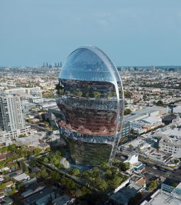The project, called The Star, would replace small office buildings at 6061 Sunset Boulevard with approximately 500,000 square feet.