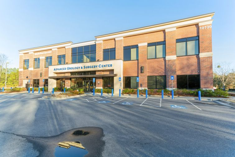 One of the portfolio's 31 medical office building properties is located at 10730 Medlock Bridge Road in Johns Creek, Ga. just outside of Atlanta.