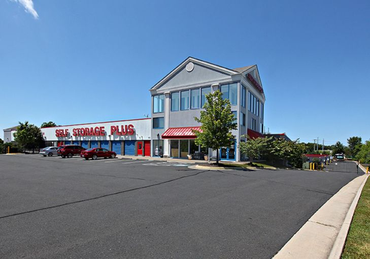 One of the eight self-storage buildings acquired.