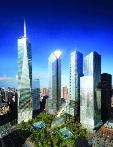 WTC Site Day, Silverstein Properties, New York, USA