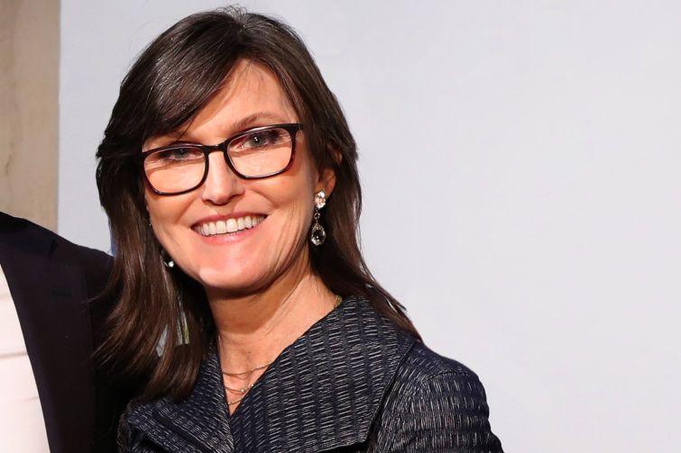 Investor Cathie Wood.