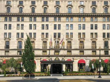 The St. Regis Washington, D.C. hotel.