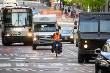 Mayor Bill de Blasio shelved plans to turn a section of Fifth Avenue into a dedicated busway.