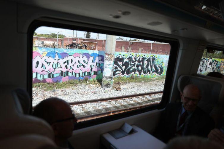 Brightline train.