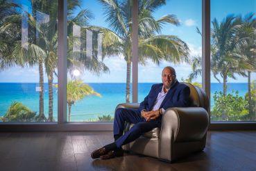 Gil Dezer, president of Dezer Development, inside the Residences by Armani Casa in Sunny Isles Beach, Fla.