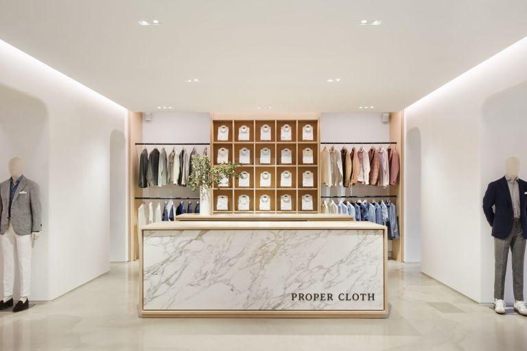 Custom Menswear Brand Proper Cloth Opens a Fifth Avenue Showroom