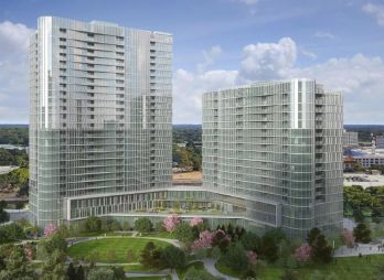 A rendering of The Mather in Tysons, Va.